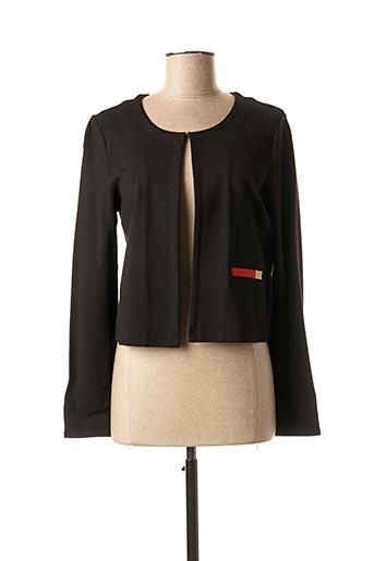 Veste casual noir DIANE LAURY pour femme