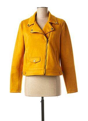 Veste casual jaune C'EST BEAU LA VIE pour femme