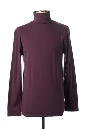 T-shirt manches longues violet MEXX pour homme