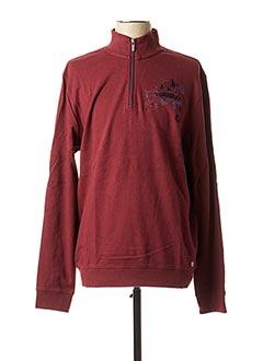 Sweat-shirt rouge MARVELIS pour homme