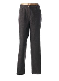 Pantalon casual marron BASLER pour femme