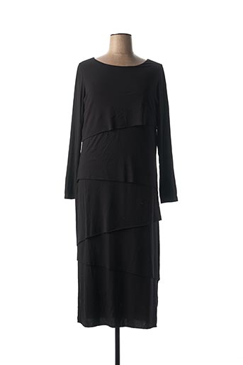 Robe longue noir MARINA RINALDI pour femme
