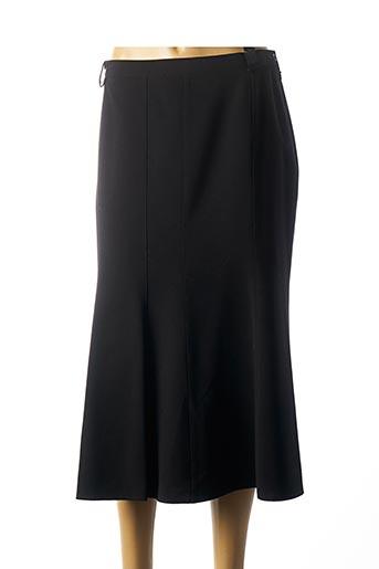 Jupe longue noir FRANCOISE F pour femme