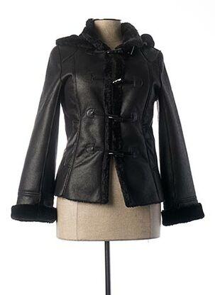 Manteau court noir LC COUTURE pour femme