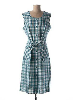 Robe mi-longue vert GUY DUBOUIS pour femme
