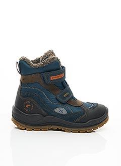 Bottines/Boots bleu PRIMIGI pour garçon