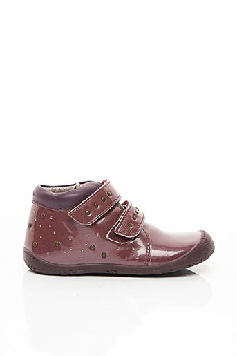 Bottines/Boots rose ASTER pour fille