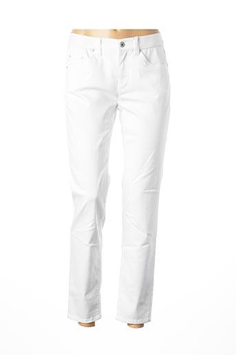 Pantalon casual blanc ANNA MONTANA pour femme
