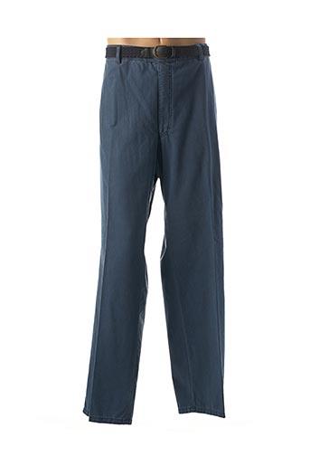 Pantalon chic bleu MODEXAL pour homme