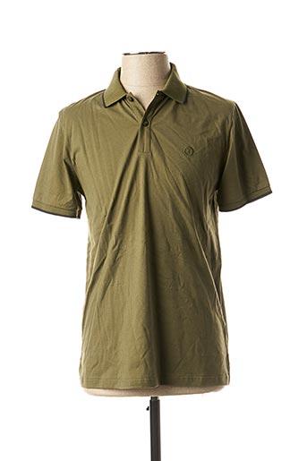 Polo manches courtes vert IMPETUS pour homme