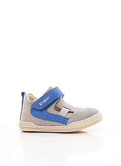 Bottines/Boots gris KICKERS pour garçon