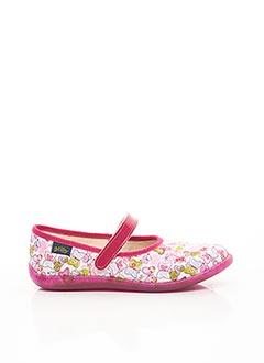 Chaussons/Pantoufles rose BELLAMY pour fille