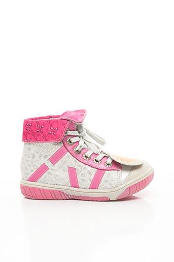 Baskets rose BABYBOTTE pour fille