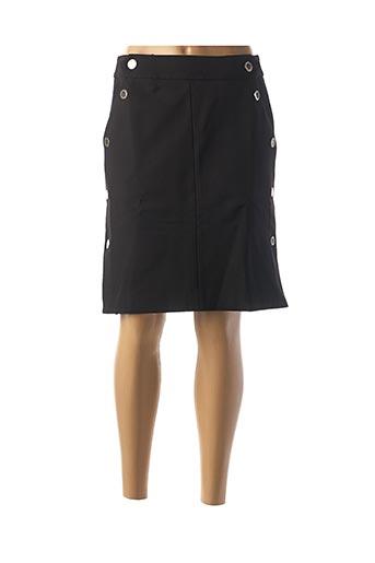 Jupe mi-longue noir MORGAN pour femme
