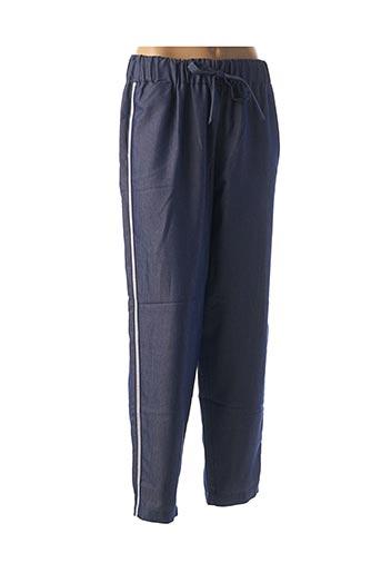 Pantalon casual bleu CHATELET pour femme