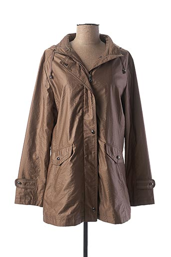 Imperméable/Trench marron EL INTERNATIONALE pour femme