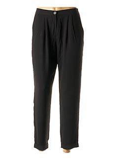 Pantalon 7/8 noir LOLA ESPELETA pour femme