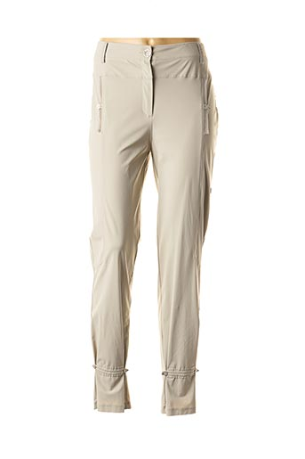 Pantalon chic gris DECA pour femme