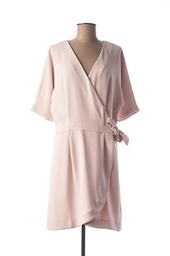 Robe mi-longue rose FRNCH pour femme