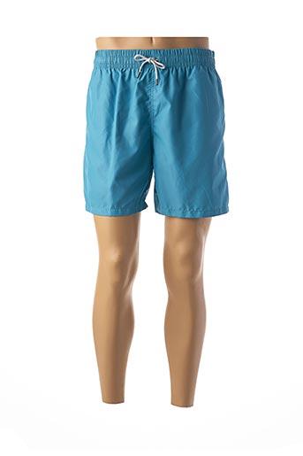 Short bleu KIWI pour homme