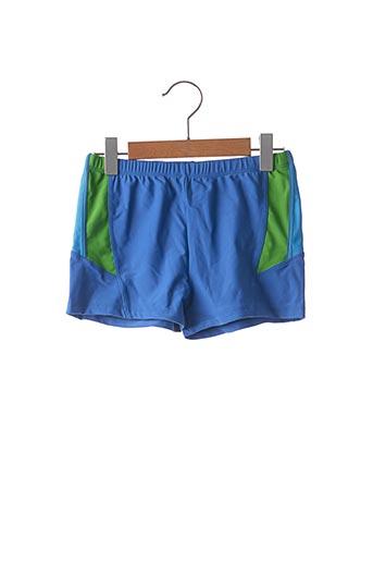 Short bleu CRAZY MEN pour garçon