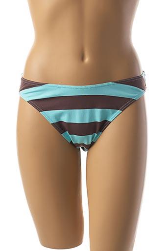 Bas de maillot de bain bleu ANASTACIA pour femme