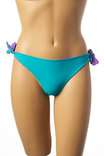 Bas de maillot de bain bleu IMEC pour femme