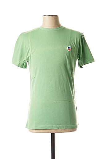 T-shirt manches courtes vert 1789 CALA pour homme