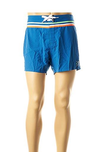 Short de bain bleu WATTS pour homme