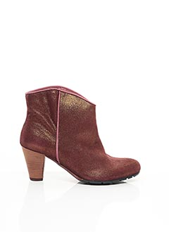Bottines/Boots rouge FELMINI pour femme