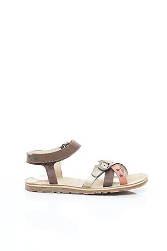 Sandales/Nu pieds marron BUGGY pour femme