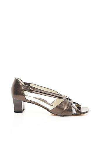 Sandales/Nu pieds marron ALEXANDRIA pour femme