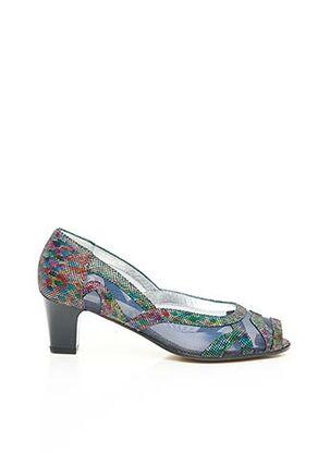 Escarpins bleu ALEXANDRIA pour femme