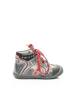 Bottines/Boots noir LITTLE MARY pour garçon