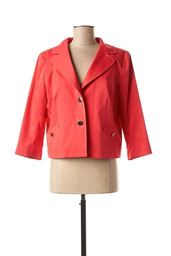 Veste casual rouge ANTONELLE pour femme