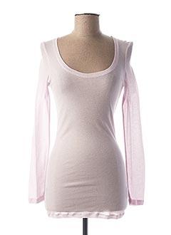 T-shirt manches longues violet BEST MOUNTAIN pour femme