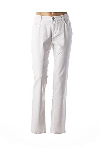 Pantalon casual blanc STARK pour femme