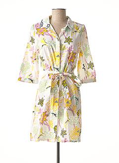 Robe courte blanc LA FIANCEE DU MEKONG pour femme