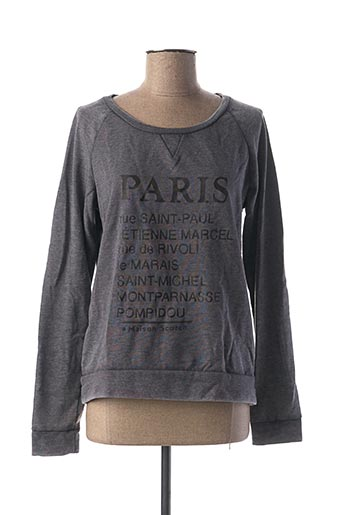 Sweat-shirt gris MAISON SCOTCH pour femme