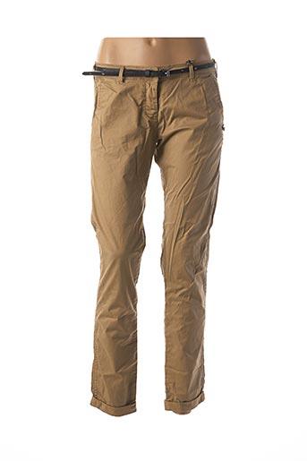 Pantalon casual beige MAISON SCOTCH pour femme