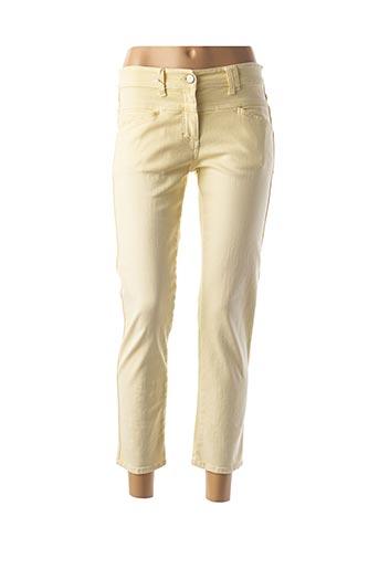 Pantalon casual jaune CLOSED pour femme