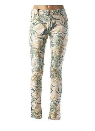 Pantalon casual vert COCCARA pour femme