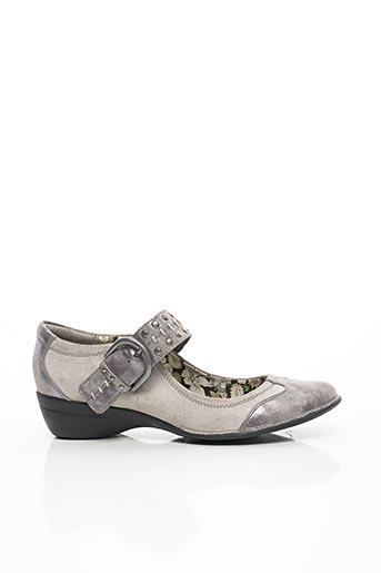 Escarpins gris ENZA NUCCI pour femme