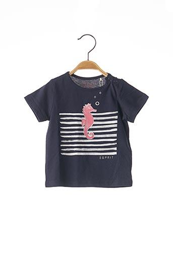 T-shirt manches courtes bleu ESPRIT pour garçon
