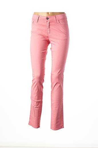 Pantalon casual rose COWEST pour femme
