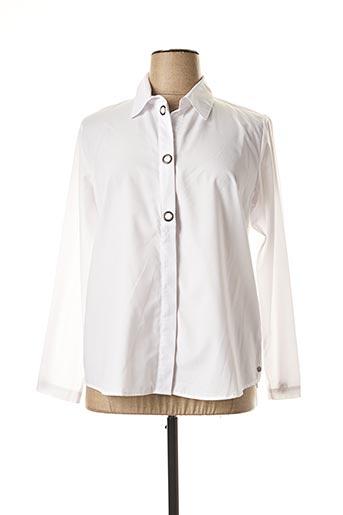 T-shirt manches longues blanc MADO ET LES AUTRES pour femme