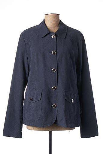 Veste casual bleu FSH pour femme