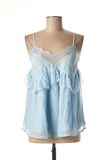 Top bleu BY SOPHIE pour femme