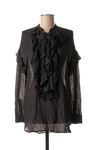 Tunique manches longues noir BY SOPHIE pour femme