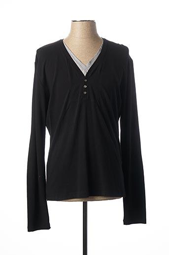T-shirt manches longues noir ANTONY MORATO pour homme